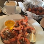 He Crab Soup, Hushpuppies, Boiled Shrimp