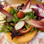 one of the salads