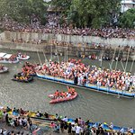 Patio view of the Fluvial Procession 6.