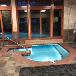 partly indoor/outdoor pool