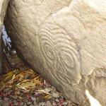 Антропоморфный петроглиф праобраза Бога Перуна