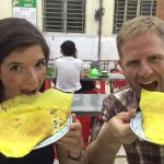 Pan Cake - authentic food after the tours with Can Tho river tour co., ltd