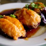 My other favourite - egg plant with fish fillings.