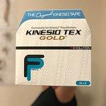 We offer Kinesio Taping with the ORIGINAL Kinesio Tape