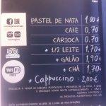 Manteigaria Lisbon menu