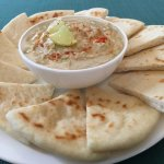 Hummus and Pita Bread
