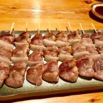 Chicken Heart - tender and succulent.