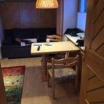 Kleines Apartment im Erdgeschoss:  gemütlich, voll ausgestattet, mit eigenem Eingang, gut für zw
