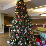 Christmas Tree in the Check-In lobby