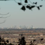 Mississauga Skyline from Rattlesnake Point