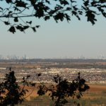 Milton, plus Toronto and Mississauga Skylines from Rattlesnake Point