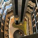 vue de l'hôtel (du 6eme étage)