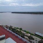 ....vom 6.Stock - Zimmer Nr. 611- Blick auf Mekong