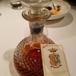 the beautiful decanter for the grappa