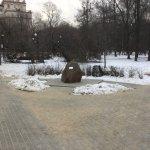 Мемориальный камень - Памятник авиаторам, погибшим на Ходынском поле.