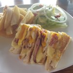 Lunch at Tala - Bacon, Egg and Cheese Sarmie