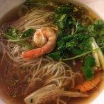 Delicious Pho Shrimp with Lemongrass at Pho Kim in Santa Fe, NM