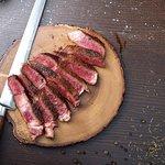 very delicious steak