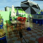 Terrasse Cafe Tanneries Photo