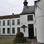 Inside view of the beguinage.