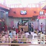 The main gruha and sitting area having CCTV
