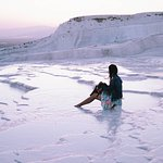 Feel paradise in Pamukkale in theremal pool