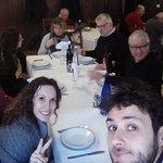 Selfie della tavolata