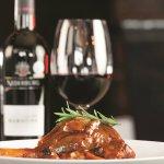 Lamb Shank and Nederburg Wine