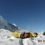 Camping in Ama Dablam BC