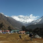Tengboche 3860m. we see nice vew from here.