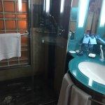 Dark and dingy bathroom