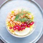 des salades renouvelées au rythme des saisons.