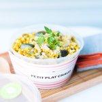 chaque semaine, retrouvez un petit plat chaud complet et équilibré avec un option végétalienne.