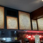 The Menu Boards