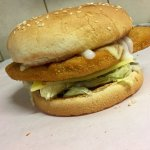 Chicken Schnitzel Burger with double cheese.
