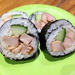 Chicken and Cucumber Sushi