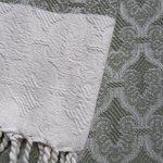 detail of fine ottoman pattern towel (November 2017)