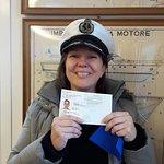 I passed my boat license!