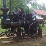Dampfmaschine zum Betrieb eines Sägegatters