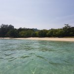 My terapi on a calm island.  Wind catchers! Reef with nice diving just outside!
