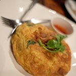 Fluffy crab-meat omelette