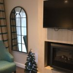 Each Suite had its own Christmas tree!