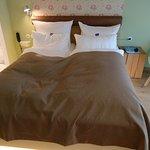 Ein bequemes großes Bett