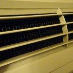 clean A/C heater vent