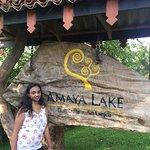 Front of the Amaya lake