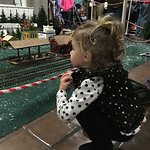 Model train display at the Kentucky Horse Park's Southern Lights is fun for kids of all ages.
