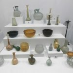 glassware from Roman period in Fethiye Museum