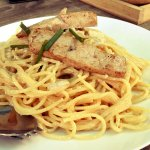 (italian food 17) - Spaghetti with fresh Tuna