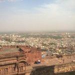 Udaipur, Ausblick vom Fort.