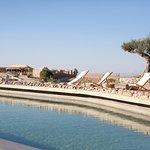 Espace piscine Terre des Etoiles - désert d'Agafay